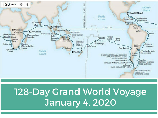 128-Day Grand World Voyage 2020
