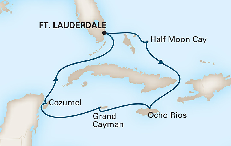 7-Day Western Caribbean on the Nieuw Statendam